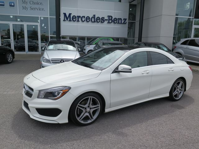2014 mercedes benz cla250 4matic coupe ottawa ontario