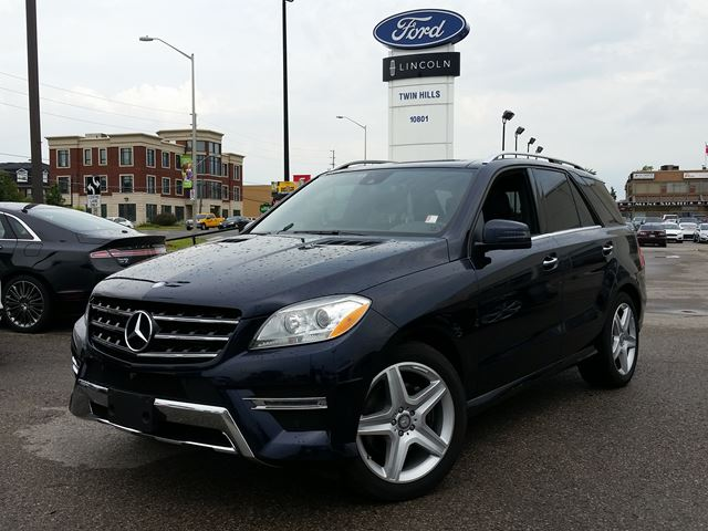 2014 mercedes benz m class ml350 blue tech richmond hill ontario used car for sale 2242360. Black Bedroom Furniture Sets. Home Design Ideas