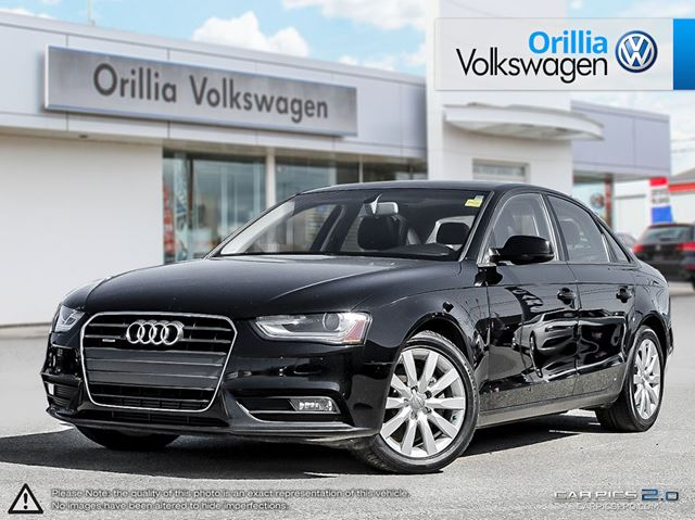 2013 audi a4 2 0t premium sedan quattro manual orillia. Black Bedroom Furniture Sets. Home Design Ideas