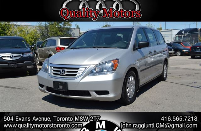2008 honda odyssey lx toronto ontario used car for sale. Black Bedroom Furniture Sets. Home Design Ideas