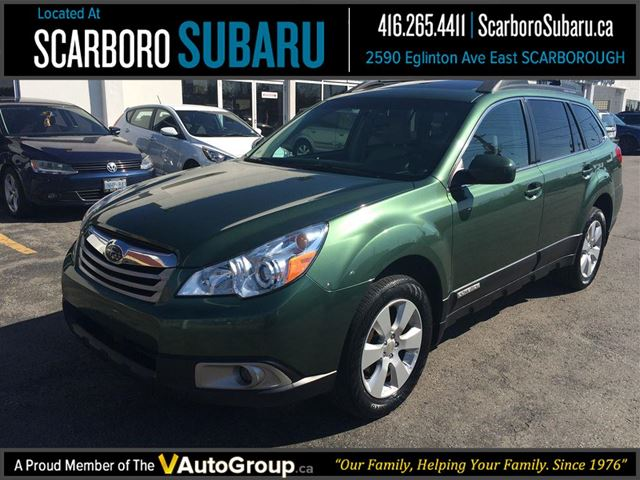 2010 subaru outback 2 5 i sport sunroof great condition scarborough ontario used car for. Black Bedroom Furniture Sets. Home Design Ideas