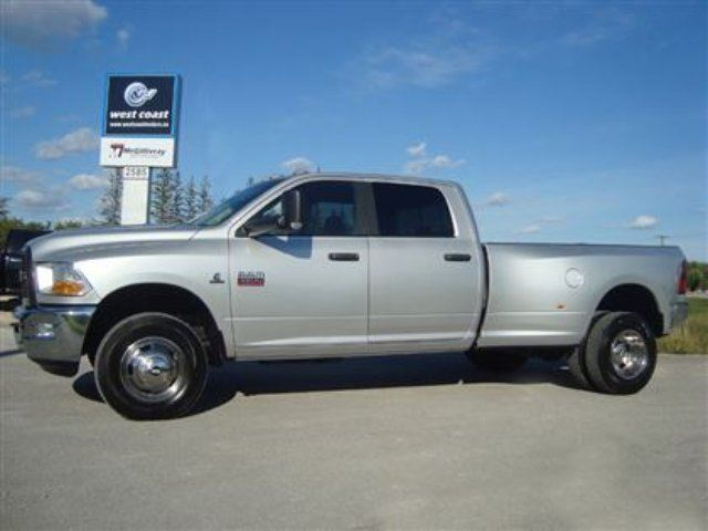 2012 dodge ram 3500 slt dually cummins diesel winnipeg manitoba used car for sale 2245498. Black Bedroom Furniture Sets. Home Design Ideas