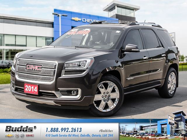 2014 gmc acadia denali awd budds chevrolet. Black Bedroom Furniture Sets. Home Design Ideas