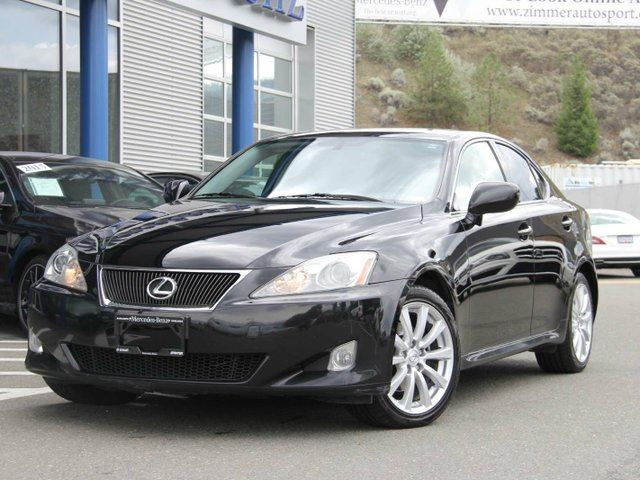 2008 lexus is 250 is250 all wheel drive black on black. Black Bedroom Furniture Sets. Home Design Ideas