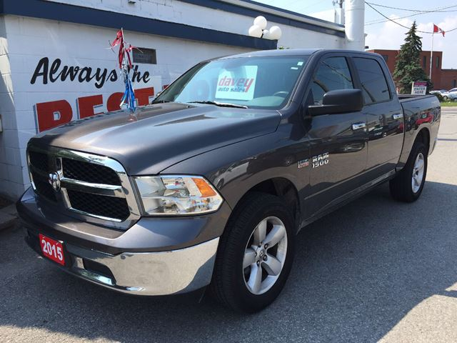 2015 dodge ram 1500 slt oshawa ontario used car for sale 2245860. Black Bedroom Furniture Sets. Home Design Ideas