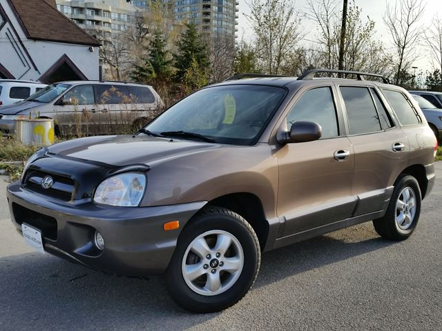 2006 hyundai santa fe gls mississauga ontario used car. Black Bedroom Furniture Sets. Home Design Ideas