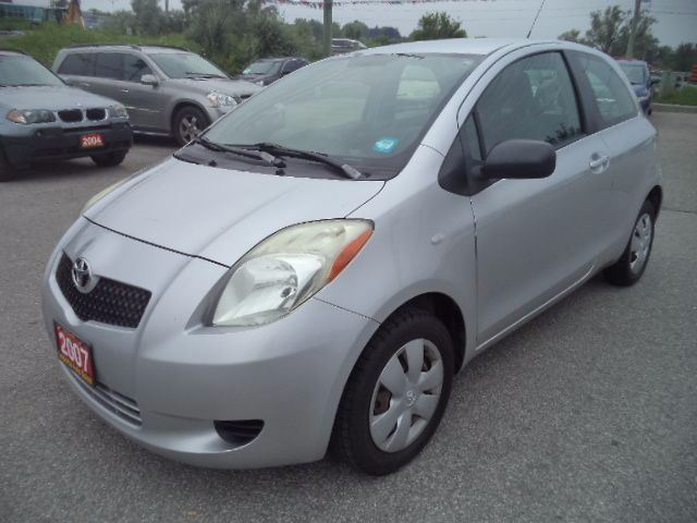 2007 toyota yaris silver imports auto sales. Black Bedroom Furniture Sets. Home Design Ideas