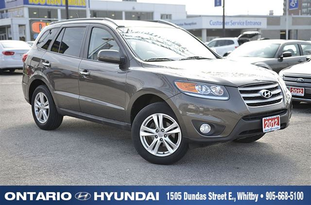 2012 hyundai santa fe limited 3 5 whitby ontario used car for sale 2246963. Black Bedroom Furniture Sets. Home Design Ideas
