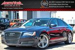 2012 Audi A8 Quattro Prem,Light,Cold Wthr Pkgs Sunroof Nav BOSE Clean CarProof 20Alloys  in Thornhill, Ontario