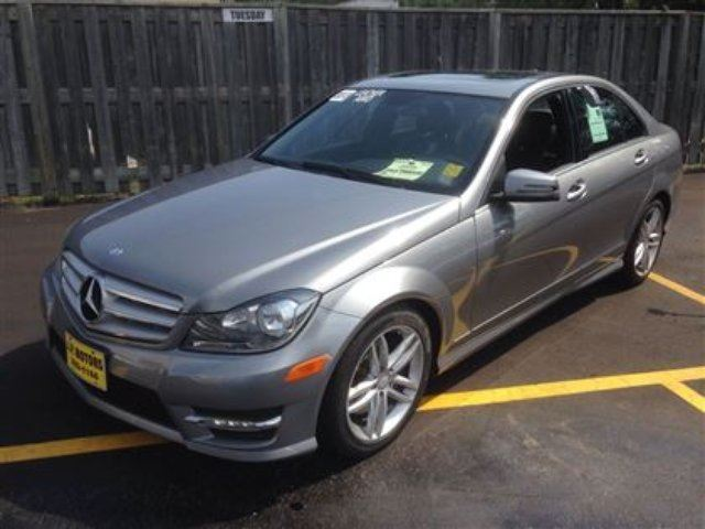 2013 Mercedes Benz C Class C300 Burlington Ontario Used