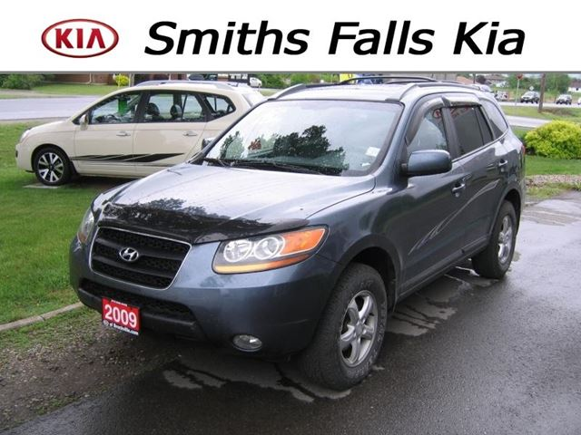 2009 hyundai santa fe gls 3 3 awd smiths falls ontario. Black Bedroom Furniture Sets. Home Design Ideas