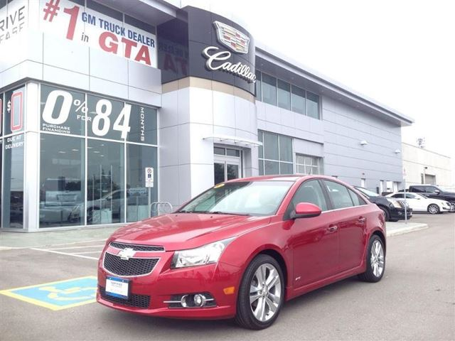 Frost Chevrolet Brampton >> 2011 Chevrolet Cruze LTZ Turbo Red | FROST CHEVROLET BUICK GMC CADILLAC | Wheels.ca