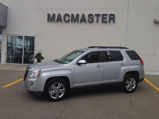2014 gmc terrain sle 2 silver macmaster pontiac buick gmc 2007 inc. Black Bedroom Furniture Sets. Home Design Ideas
