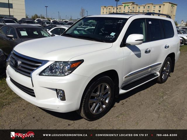 2015 lexus lx 570 edmonton alberta used car for sale 2249120. Black Bedroom Furniture Sets. Home Design Ideas