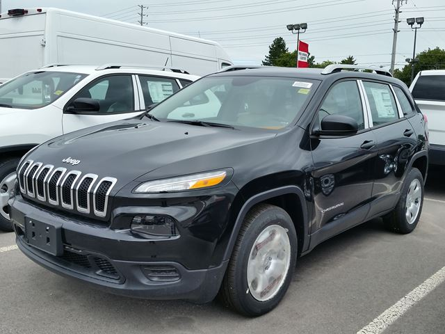 2015 jeep cherokee sport milton ontario new car for sale 2248785. Black Bedroom Furniture Sets. Home Design Ideas