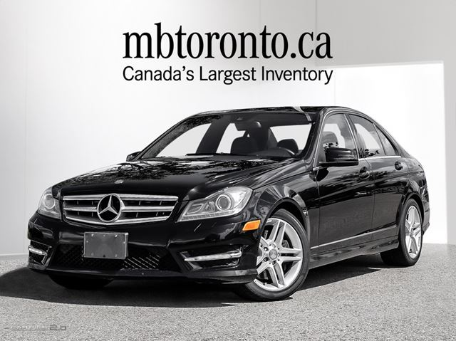 2012 mercedes benz c300 4matic sedan obsidian black met mercedes benz newmarket. Black Bedroom Furniture Sets. Home Design Ideas