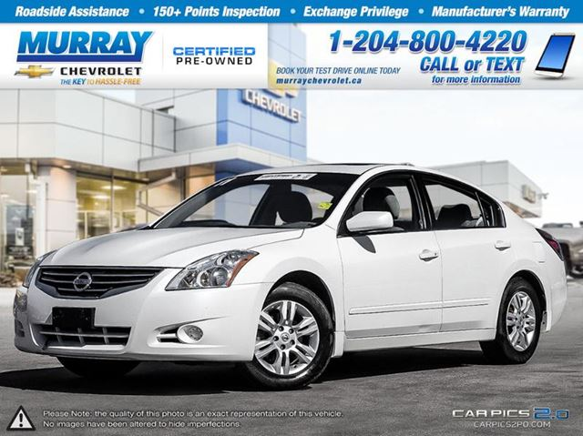 2011 nissan altima 2 5 s winnipeg manitoba used car for sale 2249535. Black Bedroom Furniture Sets. Home Design Ideas