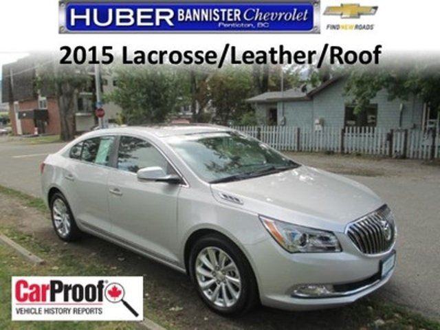 2015 BUICK LACROSSE Leather in Penticton, British Columbia
