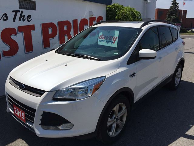 2015 ford escape se oshawa ontario used car for sale 2251633. Black Bedroom Furniture Sets. Home Design Ideas
