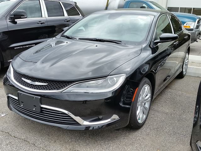 2016 Chrysler 200 Limited Vaughan Ontario Car For Sale