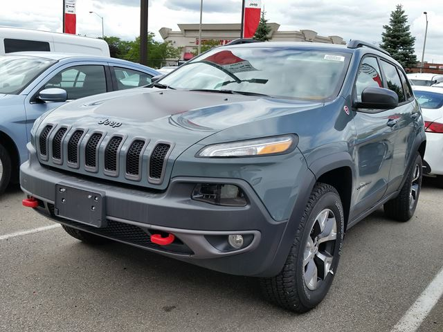 2015 jeep cherokee trailhawk 4x4 vaughan ontario new car for sale 2252394. Black Bedroom Furniture Sets. Home Design Ideas