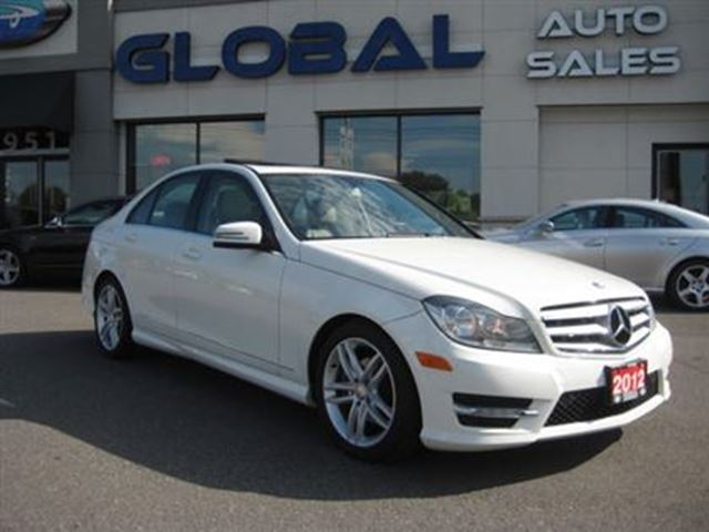 2012 mercedes benz c class c250 4matic one owner ottawa for Mercedes benz c300 4matic 2012