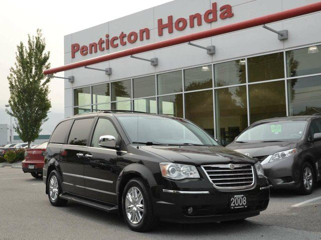 2008 chrysler town and country limited w entertainment group and swivel n go penticton. Black Bedroom Furniture Sets. Home Design Ideas