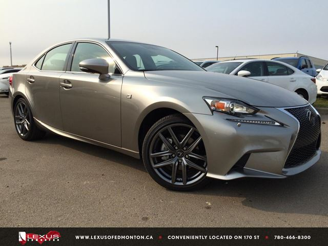2015 lexus is 250 edmonton alberta used car for sale 2253266. Black Bedroom Furniture Sets. Home Design Ideas