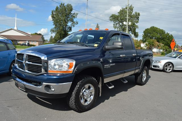 2006 dodge ram 3500 slt big horn cummins diesel ottawa ontario used car for sale 2253342. Black Bedroom Furniture Sets. Home Design Ideas