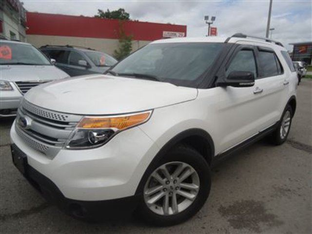 2014 ford explorer xlt nav leather captain chairs cambridge ontario used car for sale. Black Bedroom Furniture Sets. Home Design Ideas