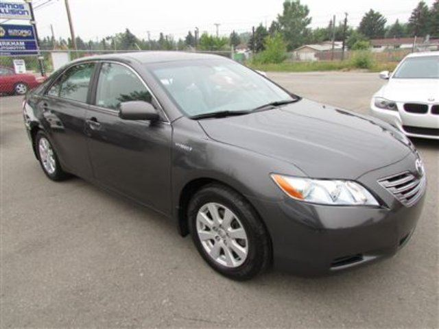 2008 toyota camry hybrid hybrid leather grey calgary auto connection. Black Bedroom Furniture Sets. Home Design Ideas
