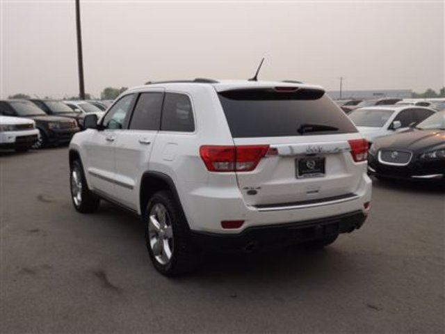 2012 jeep grand cherokee overland 5 7l 4wd navi b cam leather pano roof calgary alberta used. Black Bedroom Furniture Sets. Home Design Ideas
