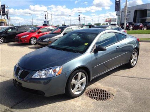 2006 pontiac g6 gtp winnipeg manitoba car for sale. Black Bedroom Furniture Sets. Home Design Ideas