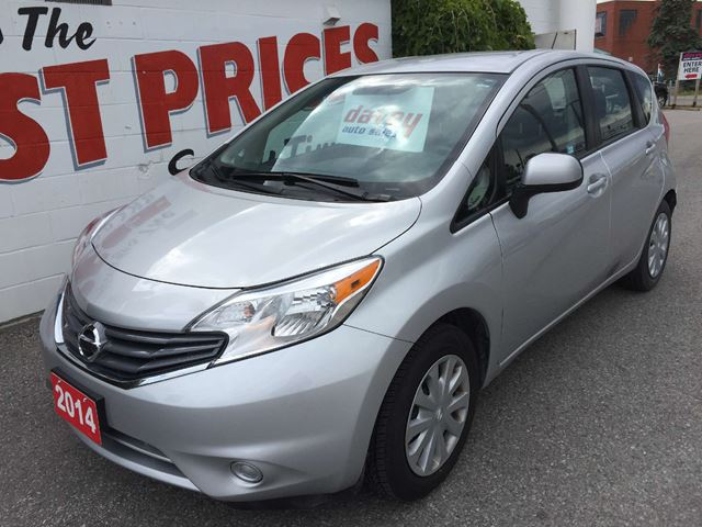 2014 nissan versa 1 6 sv oshawa ontario used car for. Black Bedroom Furniture Sets. Home Design Ideas