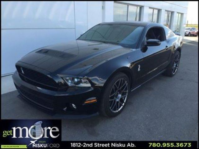 2012 FORD Shelby Shelby GT500 Glass Roof Track Pac Tech Package and in Leduc, Alberta