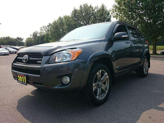 2011 toyota rav4 sport v6 4wd whitby ontario used car. Black Bedroom Furniture Sets. Home Design Ideas