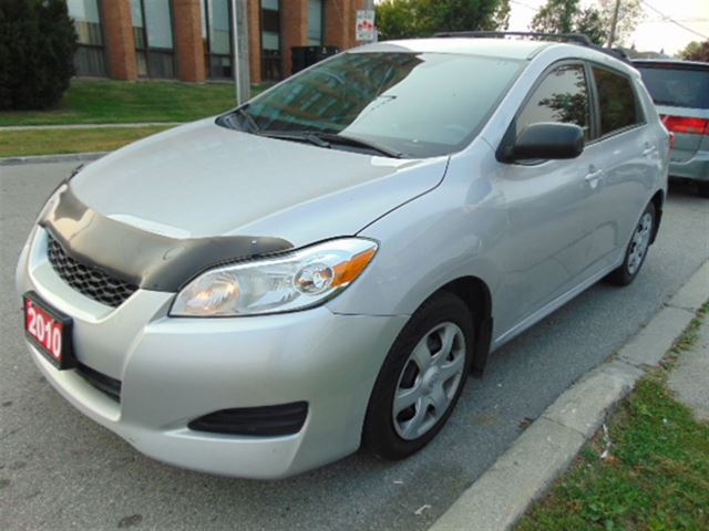 2010 toyota matrix s awd scarborough ontario used car. Black Bedroom Furniture Sets. Home Design Ideas