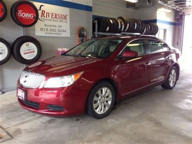2011 buick lacrosse cx brockville ontario used car for. Black Bedroom Furniture Sets. Home Design Ideas