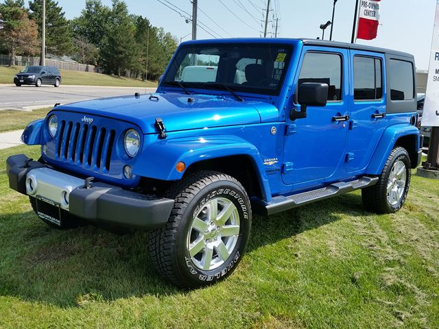 2015 jeep wrangler unlimited sahara 4x4 blue hunt chrysler new car. Cars Review. Best American Auto & Cars Review