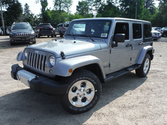 2015 jeep wrangler unlimited sahara huntsville ontario new car for sale 2262796. Black Bedroom Furniture Sets. Home Design Ideas