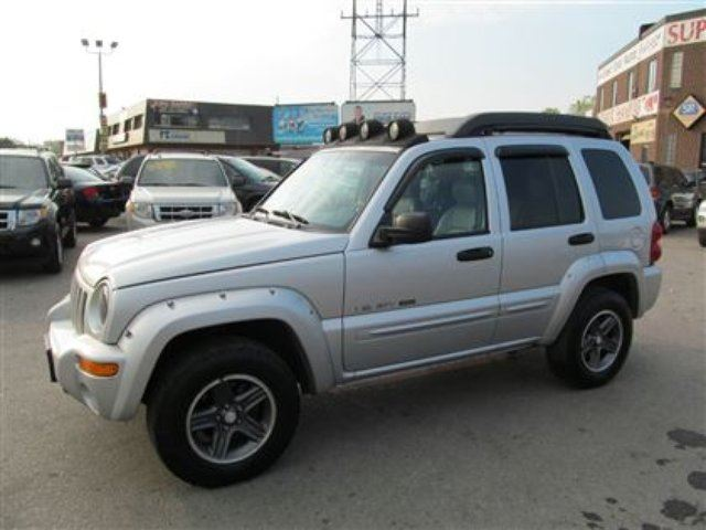 2003 jeep liberty renegade leather sunroof mint hamilton ontario used car for sale 2263092. Black Bedroom Furniture Sets. Home Design Ideas
