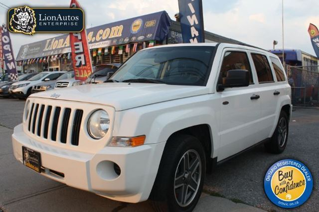 2008 jeep patriot sport north white lion autos. Black Bedroom Furniture Sets. Home Design Ideas