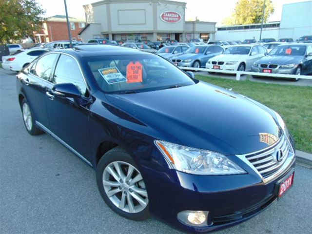 2011 lexus es 350 prem pkg extra clean blue canadian. Black Bedroom Furniture Sets. Home Design Ideas