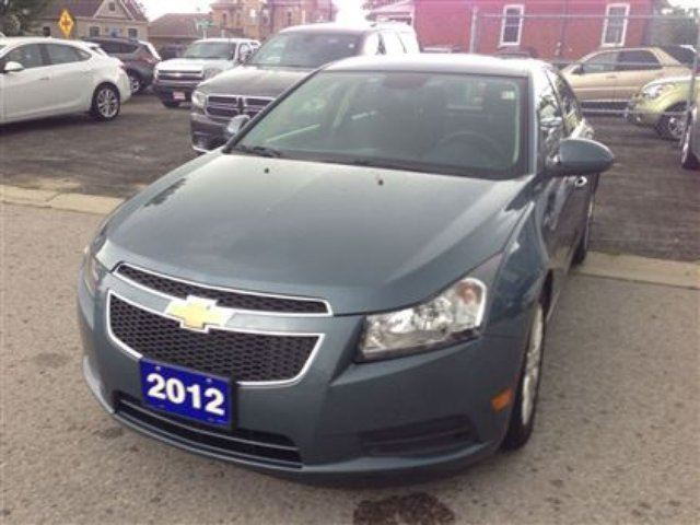 2012 chevrolet cruze eco belmont ontario used car for sale 2264660. Black Bedroom Furniture Sets. Home Design Ideas