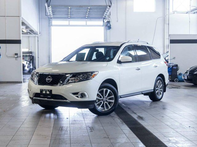 2015 nissan pathfinder sv all wheel drive white kelowna. Black Bedroom Furniture Sets. Home Design Ideas
