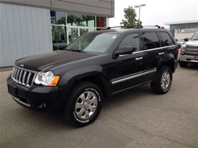 2008 jeep grand cherokee overland winnipeg manitoba used car for. Cars Review. Best American Auto & Cars Review