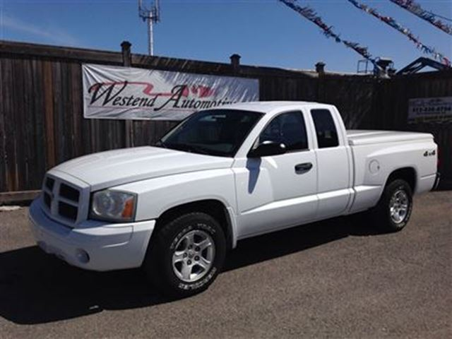 2006 dodge dakota st ottawa ontario used car for sale. Black Bedroom Furniture Sets. Home Design Ideas