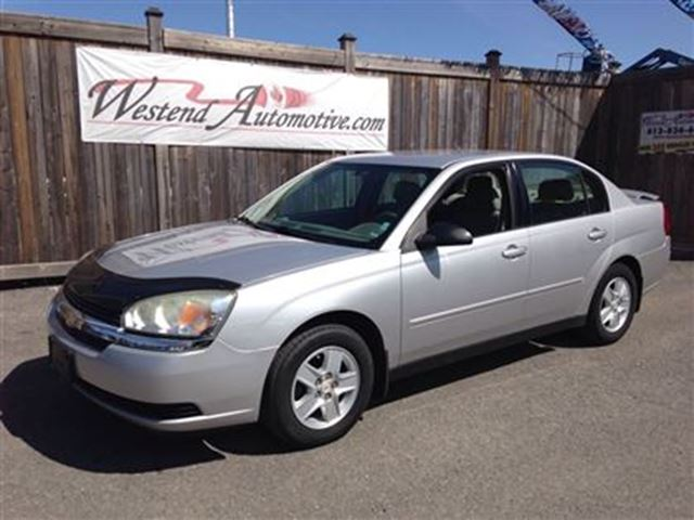 2005 chevrolet malibu ls ottawa ontario used car for. Black Bedroom Furniture Sets. Home Design Ideas