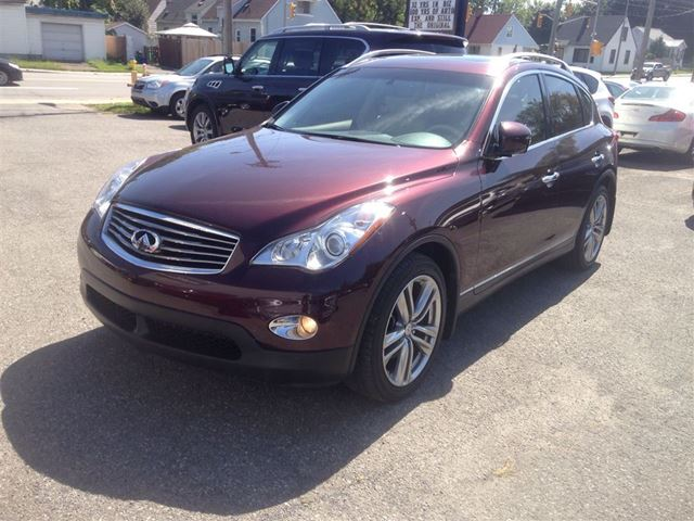 2011 infiniti ex35 luxury all wheel drive maroon import. Black Bedroom Furniture Sets. Home Design Ideas
