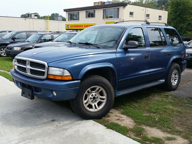 2003 dodge durango slt 4x4 blue sammy 39 s auto sales. Black Bedroom Furniture Sets. Home Design Ideas